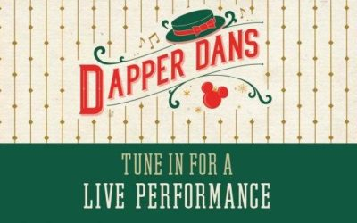 Disney to Share Live Stream of The Dapper Dans at Magic Kingdom Wednesday