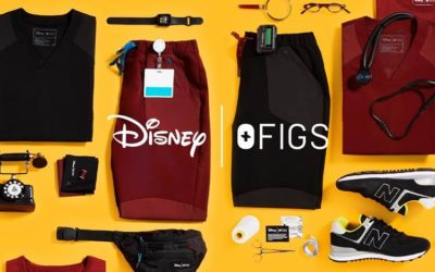 Disney x FIGS Capsule Collection Brings Mickey Mouse Charm to Scrubs for Medical Professionals