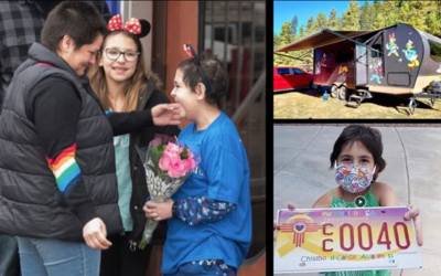 """Disney's """"The Wish Effect"""" Spotlights Tali, a 12-Year-Old Make-A-Wish Recipient Who Loves the Outdoors"""