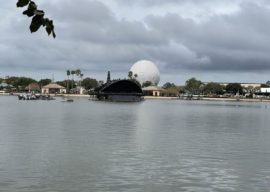 EPCOT Construction Photo Update: Big Barge Edition