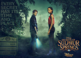 """Get Ready to Solve a Mystery With Disney Channel's First-Ever Mystery Series, """"Secrets of Sulphur Springs"""""""