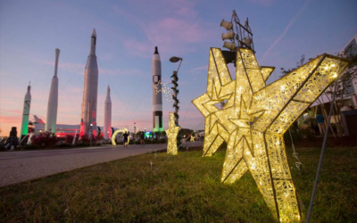 """""""Holidays in Space"""" Brings Snow and the Cosmos to Kennedy Space Center Visitor Complex December 21 – 30"""