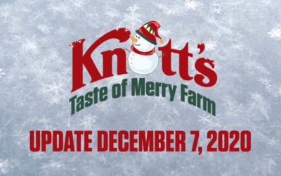 "Knott's Berry Farm Closing ""Taste of Merry Farm"" Due to California Stay-At-Home Orders"