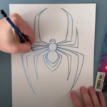Learn How to Draw Miles Morales' Spider Symbol with Artist Brian Crosby