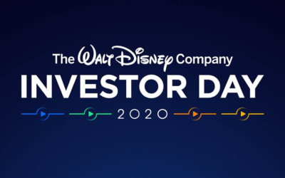Live Blog: The Walt Disney Company Investor Day 2020