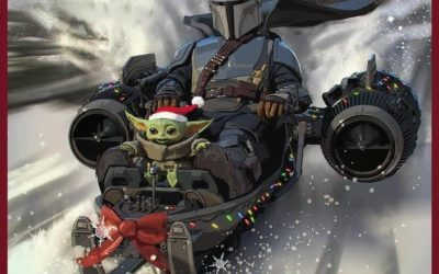 """Lucasfilm Shares """"The Mandalorian""""-Inspired Holiday Card"""