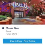 Merchandise Mobile Checkout Now Testing at Mouse Gear at EPCOT