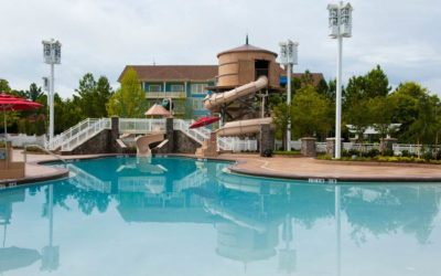 Early 2021 Refurbishment Scheduled for The Paddock Pool Water Slide at Disney's Saratoga Springs Resort & Spa