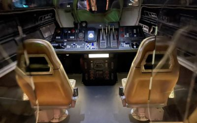 Plastic Dividers Installed On Millennium Falcon: Smuggler's Run To Increase Capacity