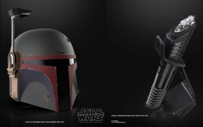 "Re-Armored Boba Fett Helmet, Force FX Elite Darksaber, More ""The Mandalorian"" Toys Revealed by Hasbro"