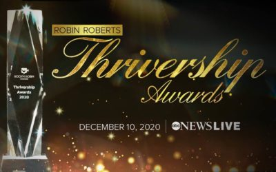 "ABC News Live to Present ""Robin Roberts Thrivership Awards"" on December 10"