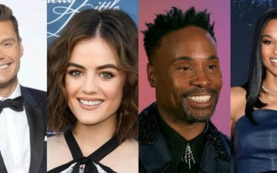"""Billy Porter Joins Ryan Seacrest and Lucy Hale to Host """"New Year's Rockin' Eve"""" Celebration in New York City"""
