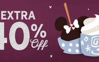 Stock Up and Save: shopDisney Extra 40% Off Sales Event Ends Tonight