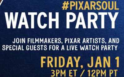 "Filmmakers, Pixar Artists, and More to Live Tweet During ""Soul"" Watch Party January 1st"