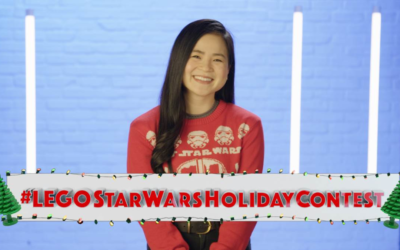 Star Wars: Force for Change, FIRST, and the LEGO® Group Teamed Up for a LEGO Star Wars Holiday Contest