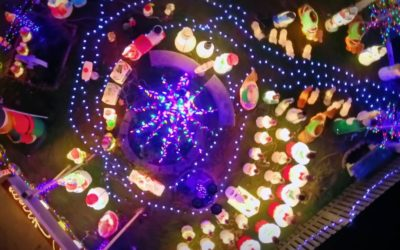 """Watch Taniya Nayak Get a Special Surprise in Exclusive Clip from Tonight's New Episode of """"The Great Christmas Light Fight"""""""
