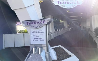 Photos: Tomorrowland Terrace Reopens at Magic Kingdom with Columbia Harbor House Menu