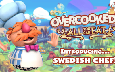 "You Can Now Play as Swedish Chef in ""Overcooked: All You Can Eat"""