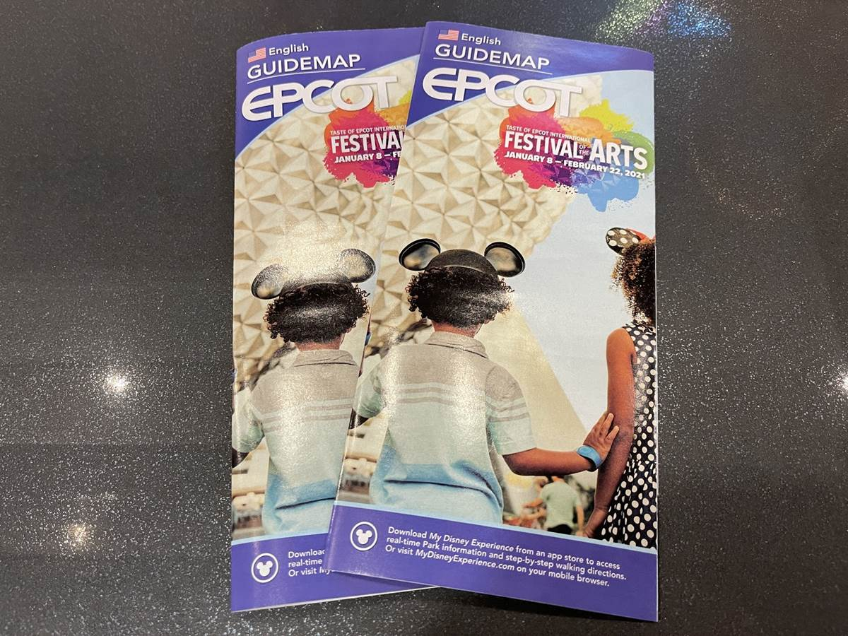 Epcot Updates Park Maps With Festival Of The Arts Info Ahead Of January 8th Festival Debut Laughingplace Com