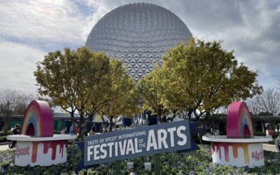 A Look Around Opening Day for Taste of EPCOT International Festival of the Arts