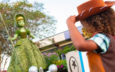 Check Out All the Kid Friendly Activities for the 2021 Taste of EPCOT International Flower & Garden Festival