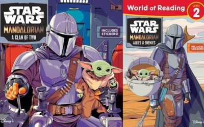 "Children's Book Reviews - ""The Mandalorian: A Clan of Two"" and ""The Mandalorian: Allies & Enemies"""