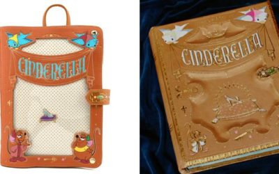 "Display Your Pin Collection Proudly with this Loungefly ""Cinderella"" Pin Trader Convertible Backpack"