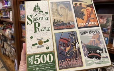 Commemorate the 20th Anniversary of Disney California Adventure with Four Puzzle Collection