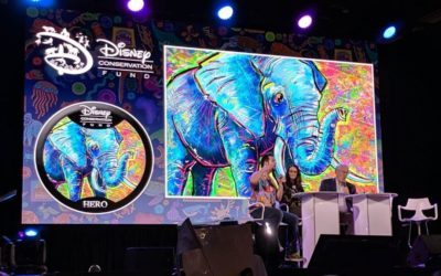 Disney Conservation Fund Kicks Off 2021 With New Elephant Button by Morgan Lee Richardson