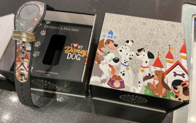 In-Person Photos of the Dooney & Bourke Disney Dogs Magic Band