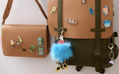 Dress Up Your Disney Pin Display with New Disney Flair Bags and Charms on shopDisney