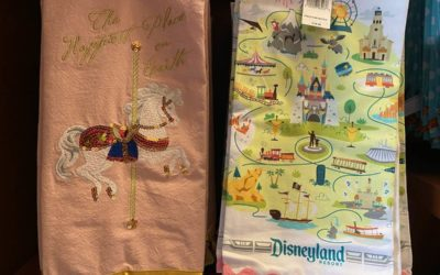 Disneyland Themed Kitchen Towels and Aprons Appear on Buena Vista Street