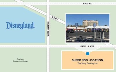 Disneyland's Toy Story Lot Super POD Closed Today Due to High Winds