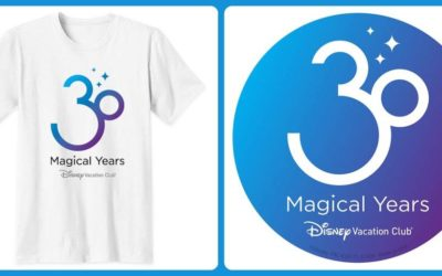 "Celebrate ""30 Magical Years"" of Disney Vacation Club with Milestone Merchandise on shopDisney"