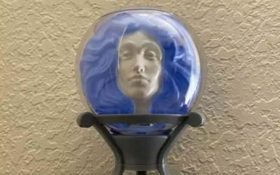 El Capitan Theatre Adds the Madame Leota Glow Sipper and DLR Snow Globe Castle Sipper to Concessions to Go