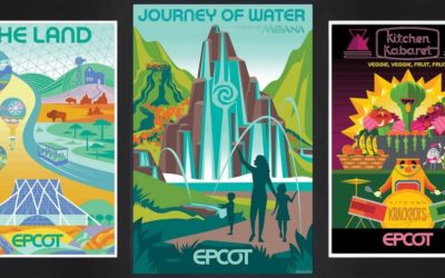 Limited Release EPCOT Inspired Posters and Lithographs Coming to shopDisney Throughout 2021