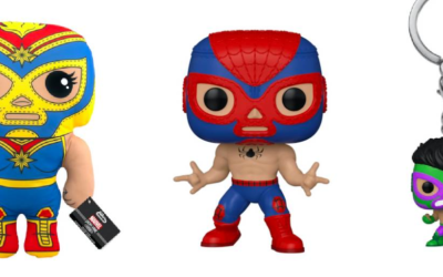 Funko Releases Collection of Marvel Lucha Libre Pop! Figures, Plush and Keychains