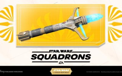 """Star Wars: Squadrons"" Gamers Can Now Unlock a Lightsaber Hilt Inspired by ""Star Wars: The High Republic"""