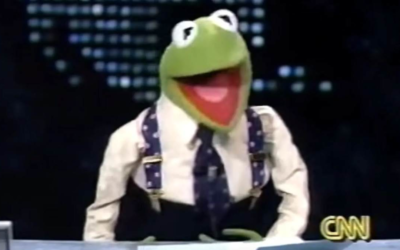 Kermit the Frog Pays Tribute To Larry King