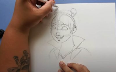 Learn how to draw Squirrel Girl with Marvel Artist Nilah Magruder