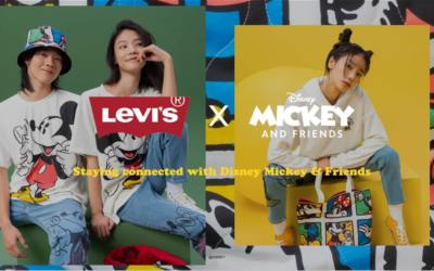 Levi's Debuts New Mickey & Friends Collection of Jeans, Tops, Hats and Bags