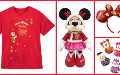 Commemorate the Year of the Ox with Lunar New Year Merchandise on shopDisney