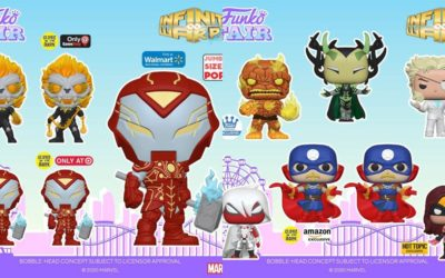 Funko Pop! Marvel Infinity Warps Collection Includes 8 Characters and 4 Exclusive Variants, Pre-Orders Available