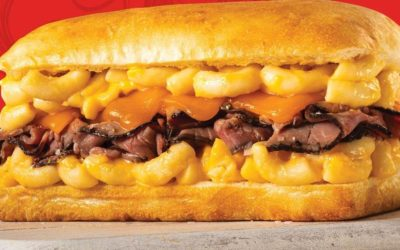 New Beefy Mac & Cheesy Sandwich Available at Earl of Sandwich