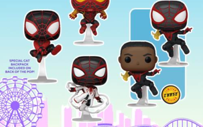 """New """"Marvel's Spider-Man: Miles Morales"""" Funko Pop! Figures Available Now"""