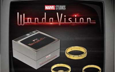 New WandaVision Prop Replica Wedding Rings Available From Entertainment Earth