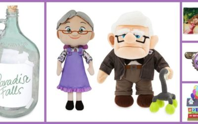 "Our Spirits are Soaring for New ""Up"" Merchandise Featuring Carl and Ellie Fredricksen and Their Iconic House"