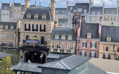 """Photo Update: EPCOT'S New Ratatouille Area and Attraction a Day After """"Ratatouille: The TikTok Musical"""" Premiered"""