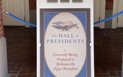 Photo Update: Hall of Presidents Closed at Magic Kingdom To Welcome Joe Biden