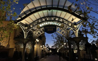 Photos - New Bathrooms, Area Around Remy's Ratatouille Adventure Opens at EPCOT